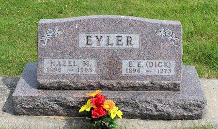 EYLER, HAZEL M. - Benton County, Iowa   HAZEL M. EYLER