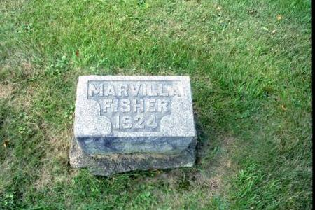 FISHER, MARVILLA - Benton County, Iowa | MARVILLA FISHER