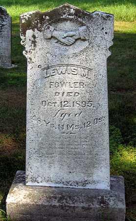 FOWLER, LEWIS M. - Benton County, Iowa | LEWIS M. FOWLER