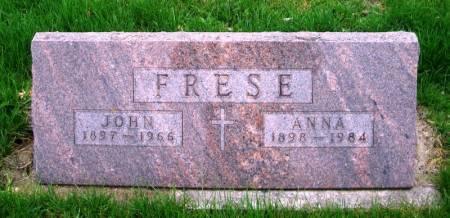 FRESE, JOHN - Benton County, Iowa | JOHN FRESE