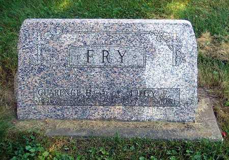 CLEWITT FRY, LUCY ELLEN - Benton County, Iowa | LUCY ELLEN CLEWITT FRY