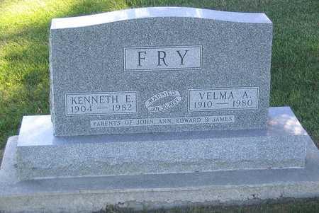 FRY, VELMA A. - Benton County, Iowa | VELMA A. FRY