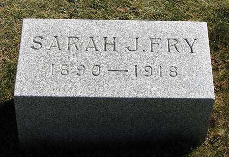 FRY, SARAH J. - Benton County, Iowa | SARAH J. FRY
