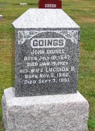 GOINGS, LUCINDA B. - Benton County, Iowa | LUCINDA B. GOINGS