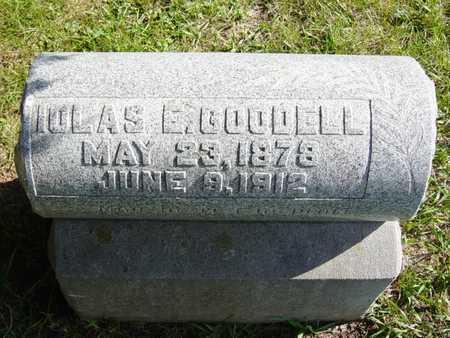 GOODELL, IOLAS E. - Benton County, Iowa | IOLAS E. GOODELL