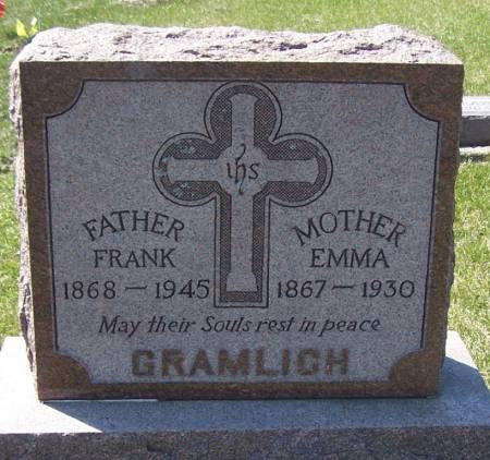 GRAMLICH, FRANK - Benton County, Iowa | FRANK GRAMLICH