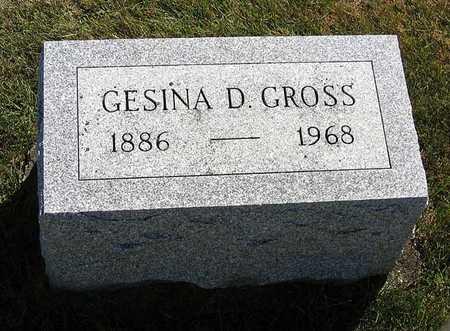 GROSS, GESINA D. - Benton County, Iowa | GESINA D. GROSS