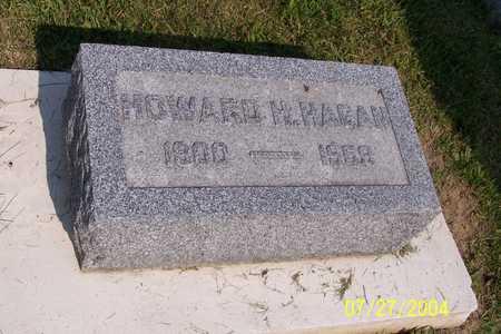 HAGAN, HOWARD - Benton County, Iowa | HOWARD HAGAN