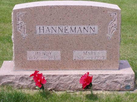 GATHJE HANNEMANN, MARY - Benton County, Iowa | MARY GATHJE HANNEMANN