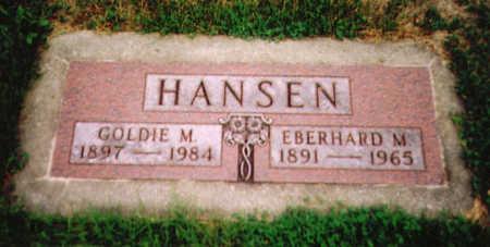 HANSEN, GOLDIE MAE - Benton County, Iowa | GOLDIE MAE HANSEN