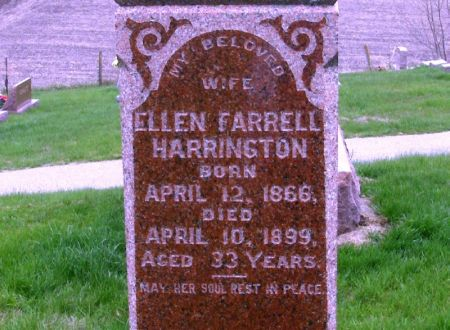 HARRINGTON, ELLEN - Benton County, Iowa | ELLEN HARRINGTON
