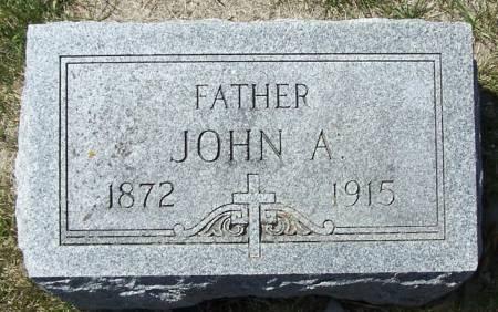 HARRINGTON, JOHN A - Benton County, Iowa | JOHN A HARRINGTON