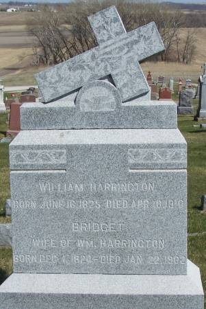 HARRINGTON, WILLIAM - Benton County, Iowa | WILLIAM HARRINGTON