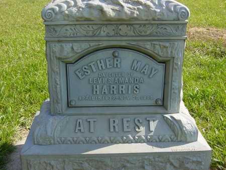 HARRIS, ESTHER MAY - Benton County, Iowa | ESTHER MAY HARRIS