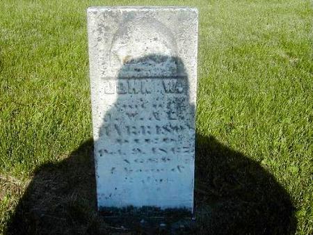 HARRISON, JOHN WESLEY, JR. - Benton County, Iowa | JOHN WESLEY, JR. HARRISON