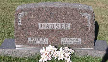 HAUSER, FRED W. - Benton County, Iowa | FRED W. HAUSER