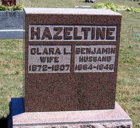 HAZELTINE, BENJAMIN - Benton County, Iowa | BENJAMIN HAZELTINE