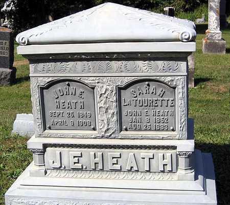 HEATH, SARAH - Benton County, Iowa   SARAH HEATH