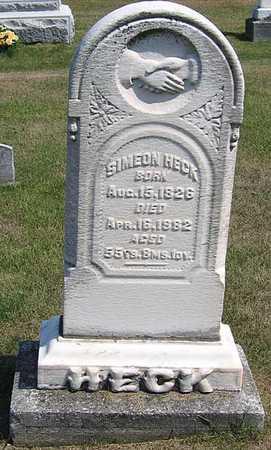 HECK, SIMEON R. - Benton County, Iowa | SIMEON R. HECK