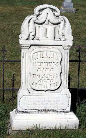 HENNINGS, WILLIAM - Benton County, Iowa | WILLIAM HENNINGS