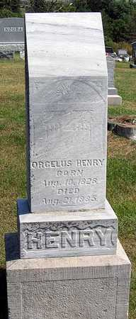 HENRY, ORCELUS - Benton County, Iowa | ORCELUS HENRY