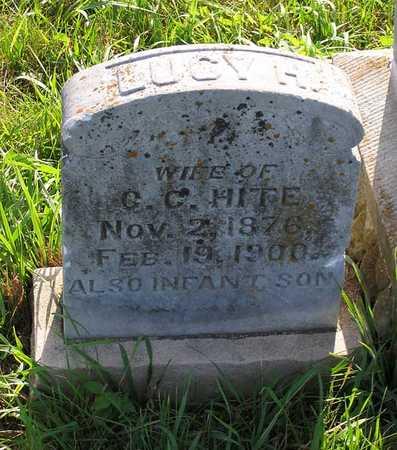 HITE, LUCY H. - Benton County, Iowa | LUCY H. HITE