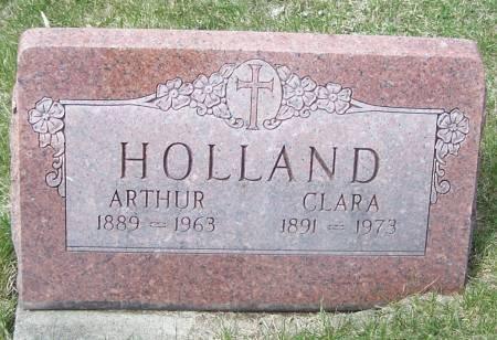HOLLAND, ARTHUR - Benton County, Iowa | ARTHUR HOLLAND