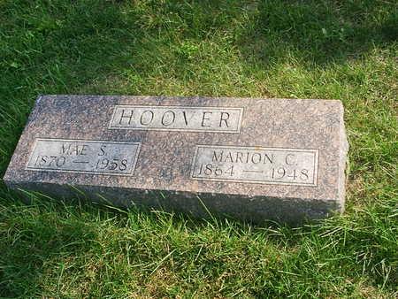 HOWARD HOOVER, MAE SUSAN - Benton County, Iowa | MAE SUSAN HOWARD HOOVER