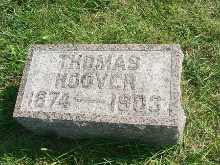 HOOVER, THOMAS - Benton County, Iowa | THOMAS HOOVER