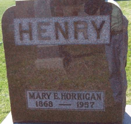 HENRY, MARY E - Benton County, Iowa | MARY E HENRY