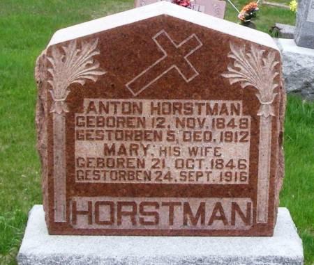 HORSTMAN, ANTON - Benton County, Iowa | ANTON HORSTMAN