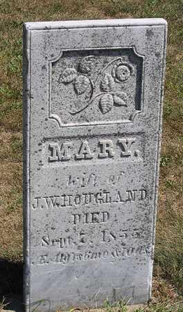 HOUGLAND, MARY - Benton County, Iowa | MARY HOUGLAND