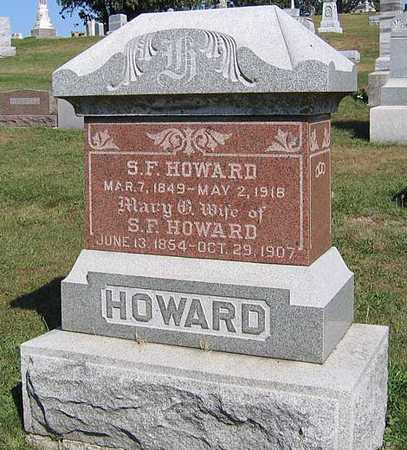 HOWARD, MARY G. - Benton County, Iowa | MARY G. HOWARD