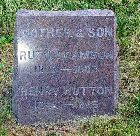 HUTTON, RUTH - Benton County, Iowa | RUTH HUTTON