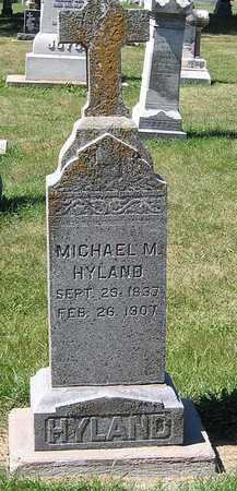 HYLAND, MICHAEL M. - Benton County, Iowa | MICHAEL M. HYLAND