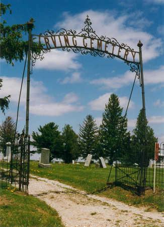 IRVING, CEMETERY - Benton County, Iowa | CEMETERY IRVING