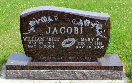 POSUTA JACOBI, MARY F. - Benton County, Iowa   MARY F. POSUTA JACOBI