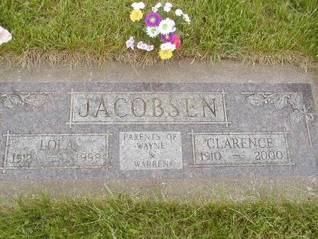 JACOBSEN, CLARENCE - Benton County, Iowa | CLARENCE JACOBSEN