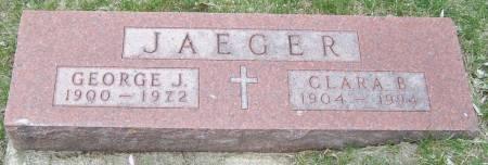 JAEGER, GEORGE J - Benton County, Iowa | GEORGE J JAEGER
