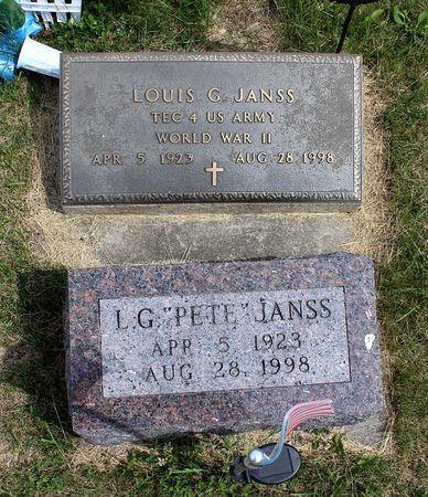 JANSS, LOUIS G. - Benton County, Iowa   LOUIS G. JANSS