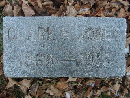 JONES, CLARK B. - Benton County, Iowa | CLARK B. JONES