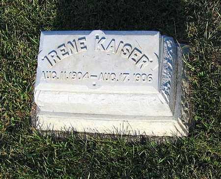 KAISER, IRENE - Benton County, Iowa | IRENE KAISER