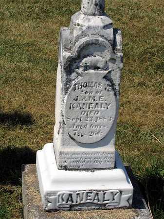 KANEALY, THOMAS WILLIAM - Benton County, Iowa   THOMAS WILLIAM KANEALY