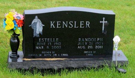 KENSLER, ESTELLE MARY - Benton County, Iowa | ESTELLE MARY KENSLER