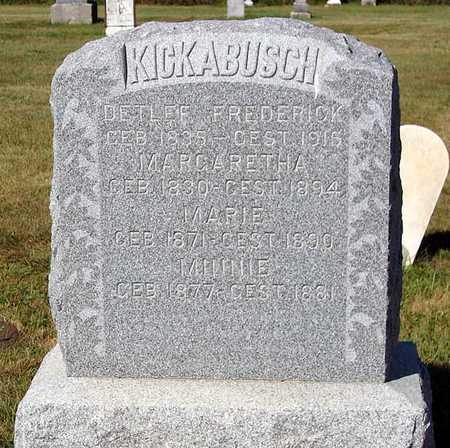 KICKABUSH, MARIE - Benton County, Iowa | MARIE KICKABUSH
