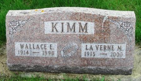 KIMM, LA VERNE M - Benton County, Iowa | LA VERNE M KIMM