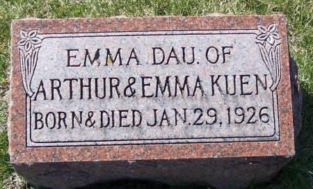 KUEN, EMMA - Benton County, Iowa | EMMA KUEN
