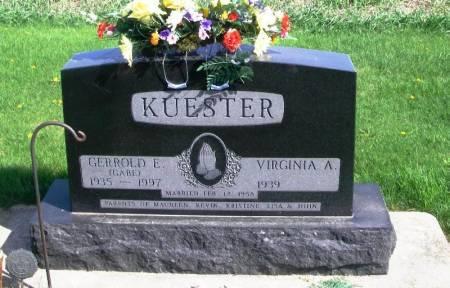 KUESTER, GERROLD E. - Benton County, Iowa   GERROLD E. KUESTER