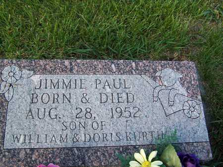KURTH, JIMMIE PAUL - Benton County, Iowa | JIMMIE PAUL KURTH