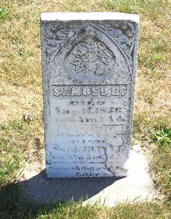 LANE, SAMUEL R. - Benton County, Iowa | SAMUEL R. LANE